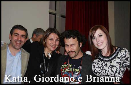 Katia, Giordano e Brianna